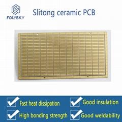 Sliton Single & Double-sided Ceramic PCB.