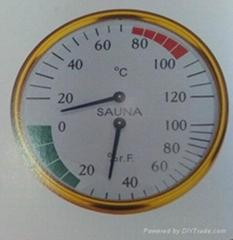 sauna hygrometer sauna thermometer