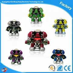 Amusement Electric Kiddie Rides Battle King Robot Rides
