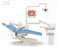 High quality basic dental chair with LED