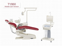 Real cow leather chair with full options dental Equipment