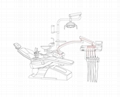 High Quality Ce Approved Dental Chair Integral Dental Unit Equipment
