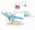 Factory dental chair with full dental equipment