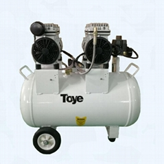 Ce Approved Medical Dental Oil-Free Air Compressor with Head Motor