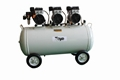 Medical Silent Oilless Oil-Free Tank 120L Dental Oil Free Air Compressor