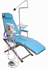 Dental Portable Turbine Type-Folding Chair Dental Chair with Good Quality
