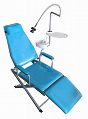 Medical Folding Dental Chair Portable Type-Folding Chair Unit
