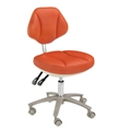 Dental Supply Clinic Doctor Chair Dentist Stool with PU and Real Leather