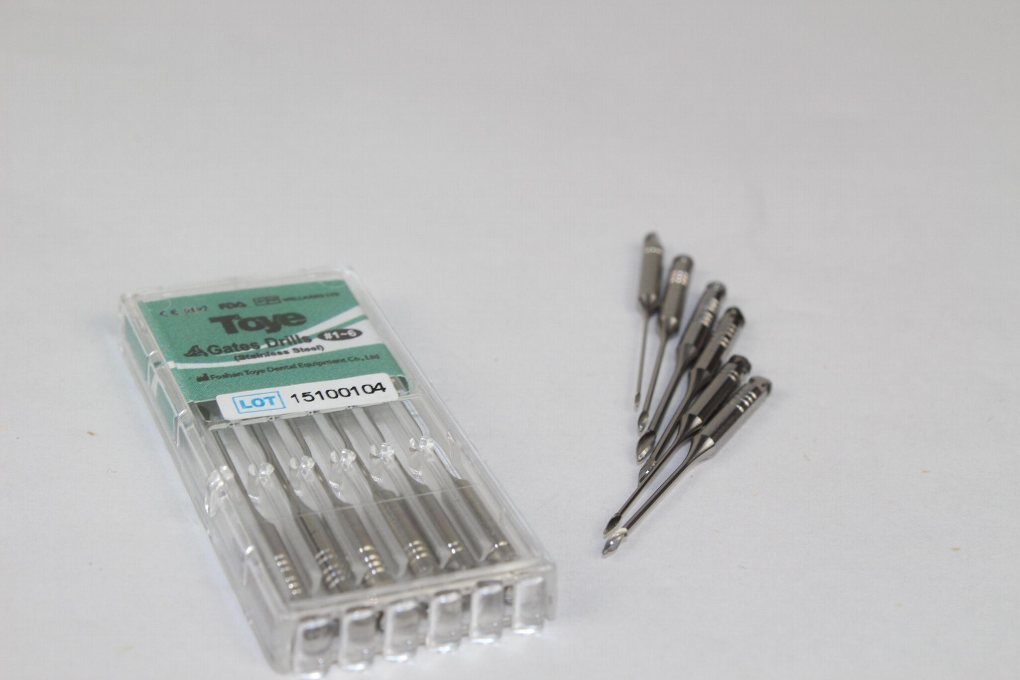 High Quality Dental Gate Drills Stainless Steel 1