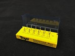 Dental Porcelain Veneer Crown Cutting Burs Kit Diatech Crown Preparation Kit