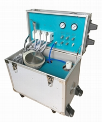 High Standard Hospital Portable Dental Unit Equipment with 3-Way syringe