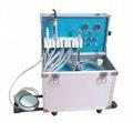 Electricity Power Source & Dental Chair Suitcase Type Portable Dental Unit