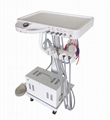 Mobile Dental Unit chair Trolley with 12L Air Compressor and Scaler and LED Ligh