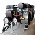 Medical Silent Oilless Piston Oil-Free Dental Oil Free Air Compressor 2