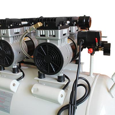 Medical Silent Oilless Piston Oil-Free Dental Oil Free Air Compressor 4