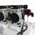 Medical Silent Oilless Piston Oil-Free Dental Oil Free Air Compressor