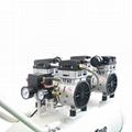 Dental Oil Less Free Air Compressor Drive 3 Dental Unit Chair