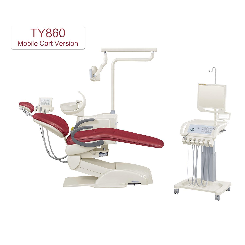 New Style Luxury Dental Chair Unit Dental Equipment Cart Trolley