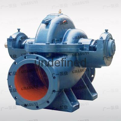 廣州-廣一S型單級雙吸中開泵-廣一水泵廠-廠家直銷 1