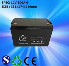 工厂直销12v100ah蓄电池 直流屏电池 ups蓄电池12v蓄电池电瓶