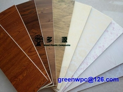 interior decoration wood plastic composite wall panel,ceiling panel