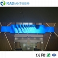 Shenzhen P2.5 indoor soft module curved programmable flexible led display 5