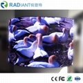Shenzhen P2.5 indoor soft module curved programmable flexible led display 3
