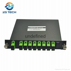 LGX Box 8channels CWDM MUX DEMUX for 10 gigabit Ethernet switch transmission