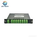 LGX Box 8channels CWDM MUX DEMUX for 10 gigabit Ethernet switch transmission 3
