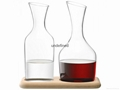 High capacity  red wine glass decanter &