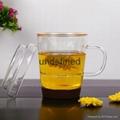 Birthday gift glass mugs tea and coffee cups glass mug glass cup 3