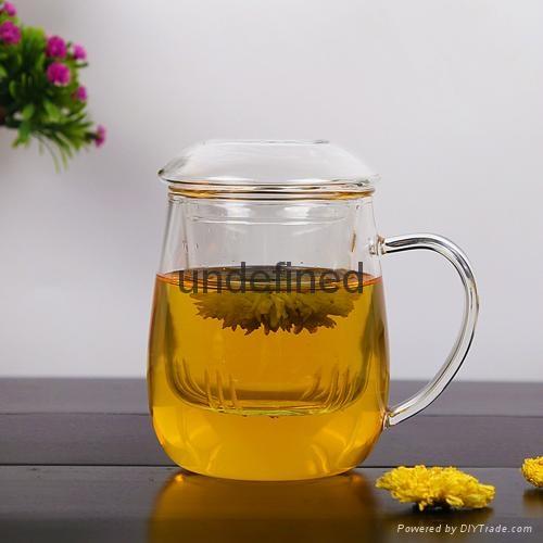 Birthday gift glass mugs tea and coffee cups glass mug glass cup 4
