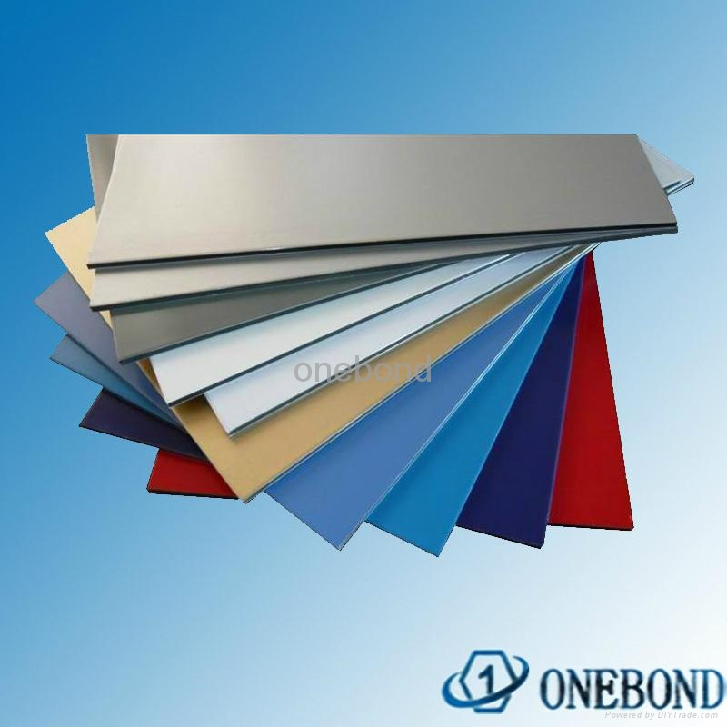 ONEBOND Aluminum Composite Panel for curtain wall cladding 5