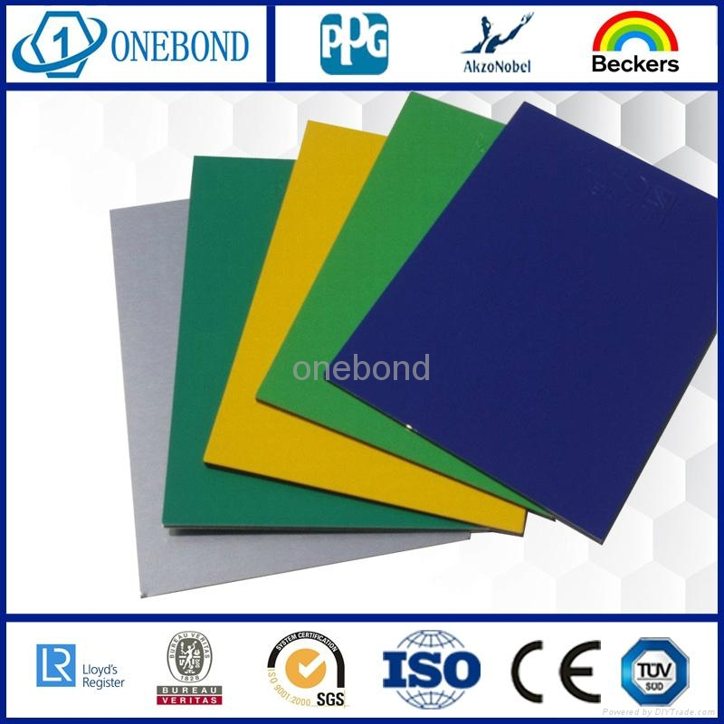 ONEBOND Aluminum Composite Panel for curtain wall cladding 1