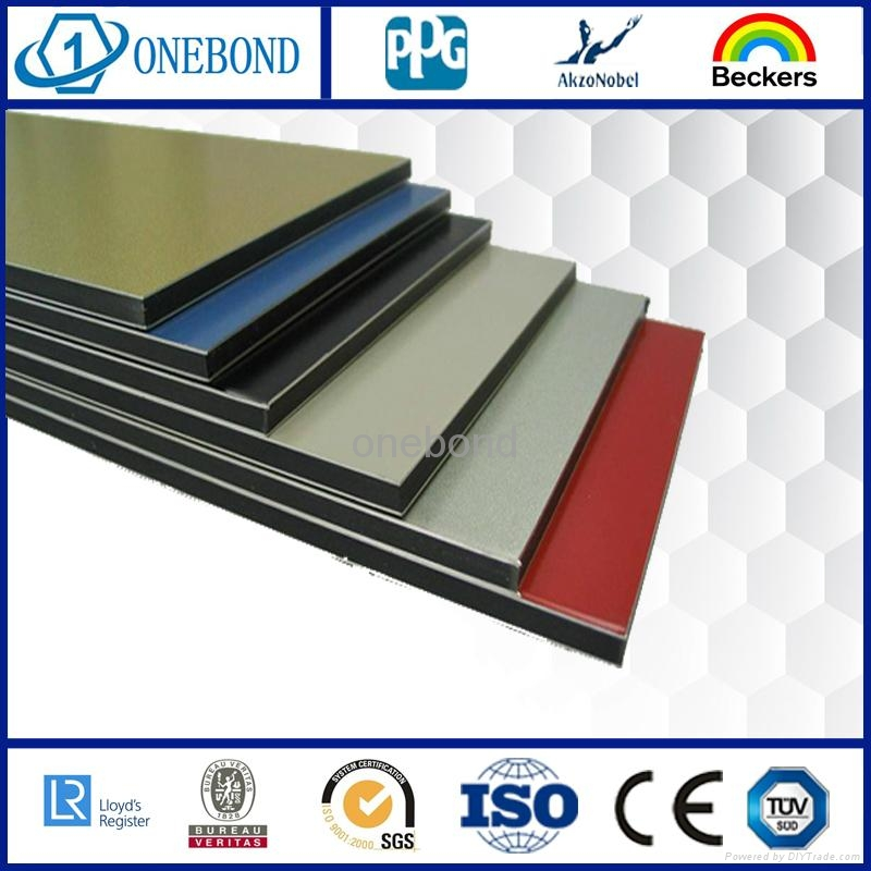 ONEBOND Aluminum Composite Panel for curtain wall cladding 2