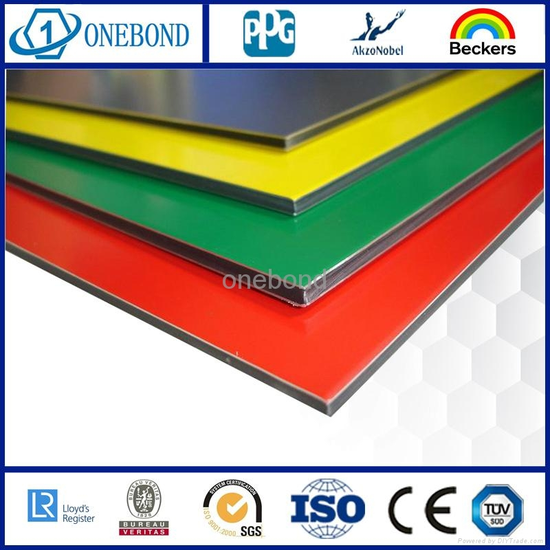 ONEBOND Aluminum Composite Panel for curtain wall cladding 3