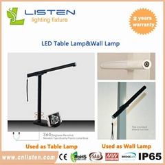 Bright LED table lamp LED wall lamp Flexible Computer Lamp Laptop PC Desk Book R