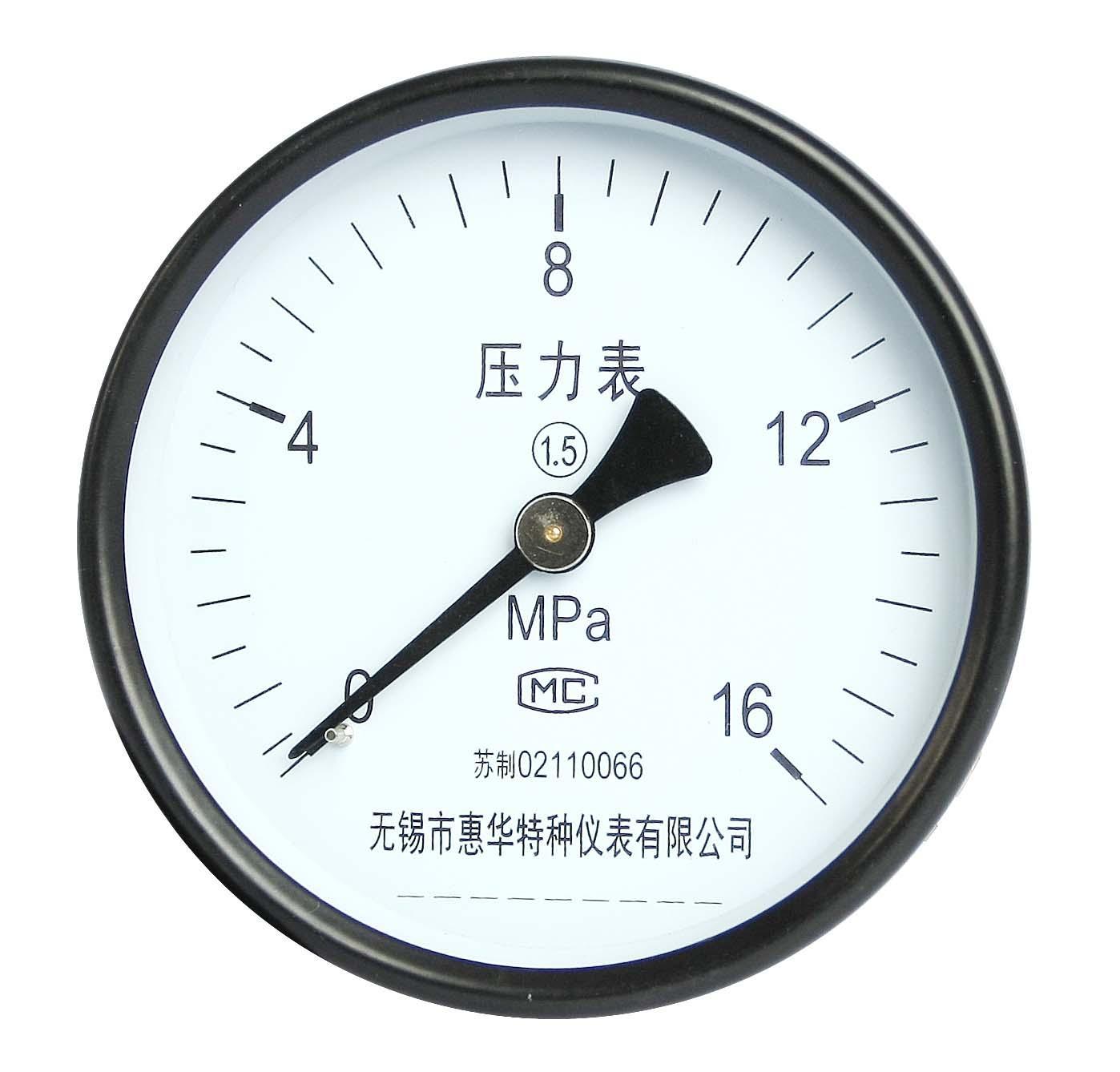 壓力表 一般壓力表 真空壓力表 彈簧管壓力表 4