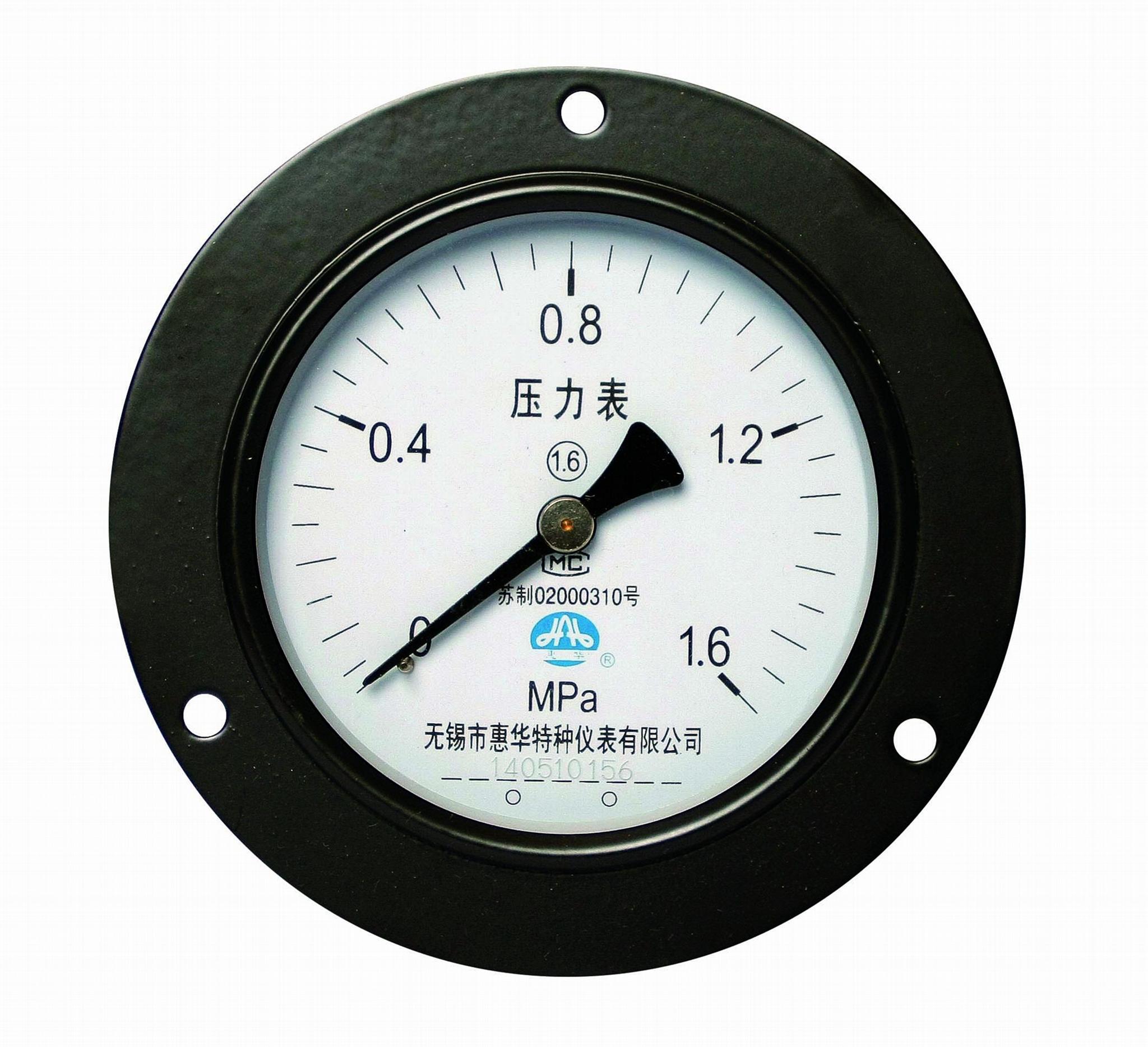 壓力表 一般壓力表 真空壓力表 彈簧管壓力表 7