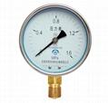 壓力表 一般壓力表 真空壓力表 彈簧管壓力表 8