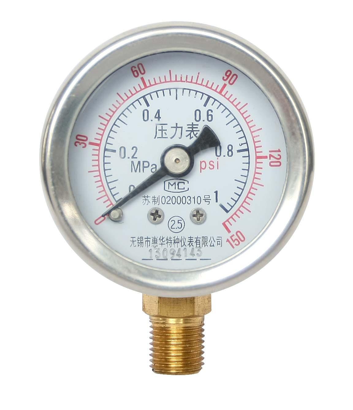 壓力表 一般壓力表 真空壓力表 彈簧管壓力表 9