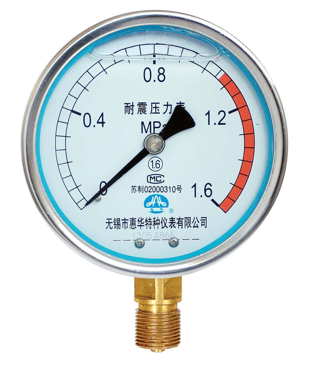 耐震壓力表 抗震壓力表 防震壓力表 充油壓力表 1