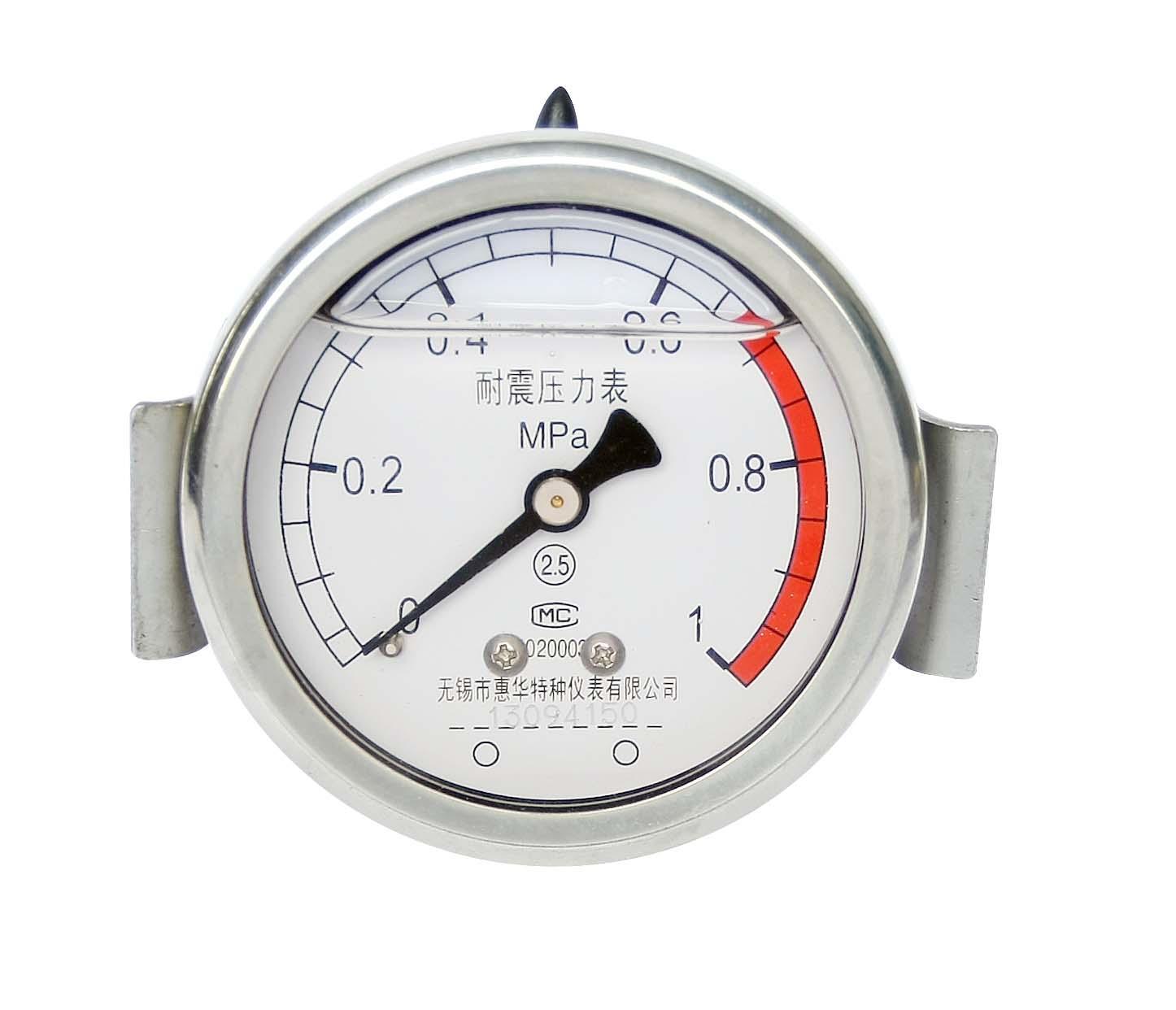 耐震壓力表 抗震壓力表 防震壓力表 充油壓力表 8