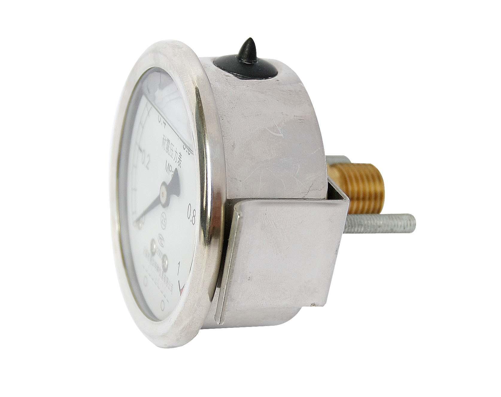 耐震壓力表 抗震壓力表 防震壓力表 充油壓力表 9