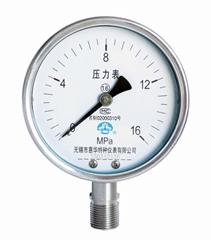 不鏽鋼壓力表 不鏽鋼真空壓力表 不鏽鋼彈簧管壓力表