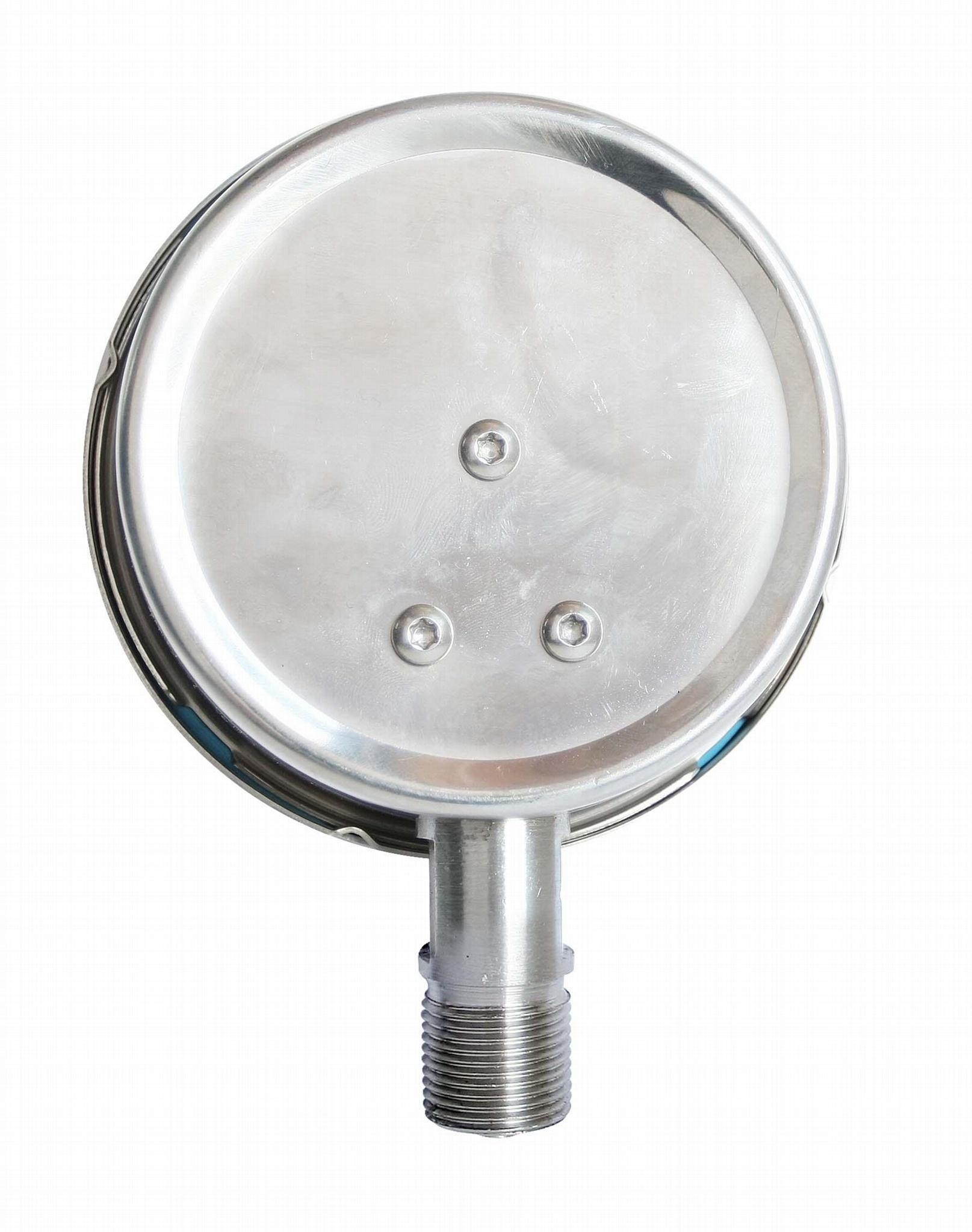 不锈钢压力表 不锈钢真空压力表 不锈钢弹簧管压力表 4