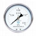 不鏽鋼壓力表 不鏽鋼真空壓力表 不鏽鋼彈簧管壓力表 5