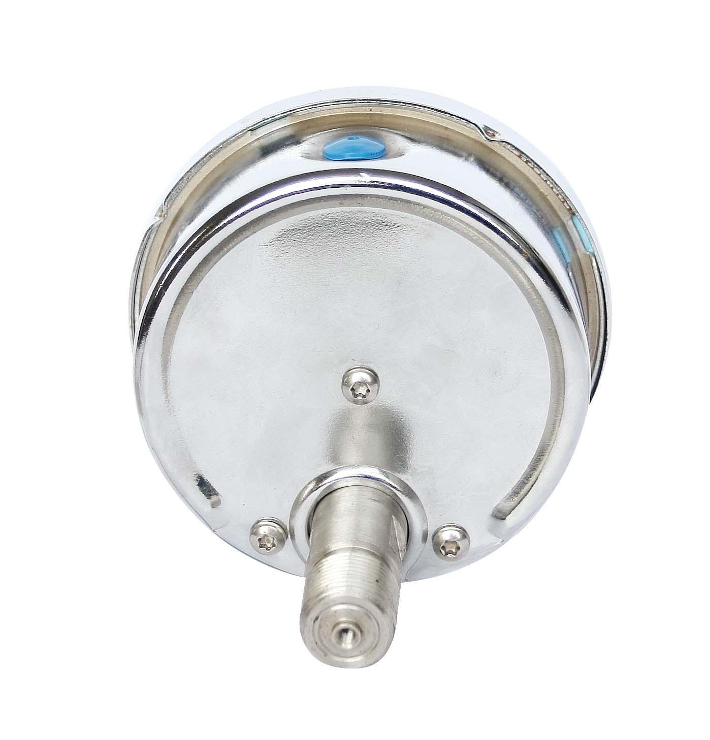 不锈钢压力表 不锈钢真空压力表 不锈钢弹簧管压力表 7