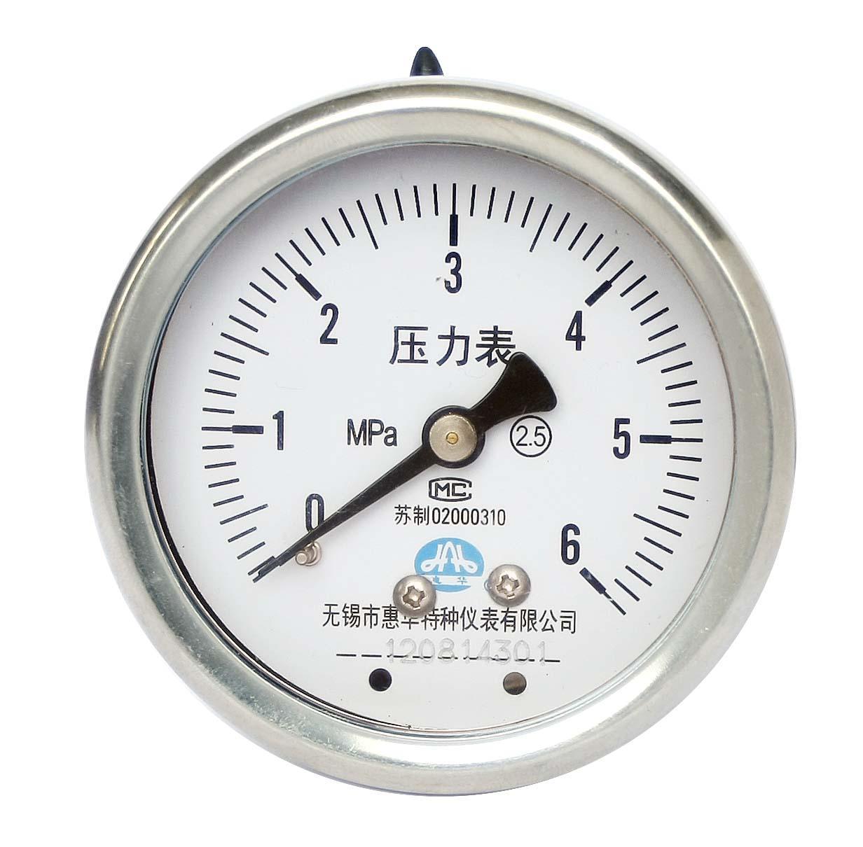 不锈钢压力表 不锈钢真空压力表 不锈钢弹簧管压力表 8