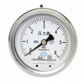 不鏽鋼壓力表 不鏽鋼真空壓力表 不鏽鋼彈簧管壓力表 8